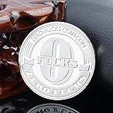 Leyeet 2018 Zero Fucks Coin Les États-Unis de la Collection de pièces de monnaie commémorative No Fucks