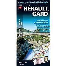 Hérault (34), Gard (30) : 1/180 000
