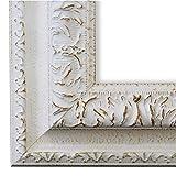 Online Galerie Bingold Bilderrahmen Rom Weiß 6,5 - LR - 40 x 60 cm - wählen Sie aus über 500 Varianten - Alle Größen - Landhaus, Antik, Barock - Fotorahmen Urkundenrahmen Posterrahmen