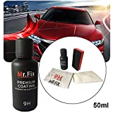 HITSAN INCORPORATION CARPRIE 9H Car Oxidation Liquid Ceramic Coat Hydrophobic Glass Coating Set (50 ml)