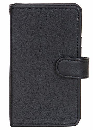 Karbonn Smart A111 - Handmade Flip Wallet Leather Pouch Cover Comfortable & Stylish (Be Unique Buy Unique) Buy it Now By Senzoni  available at amazon for Rs.349