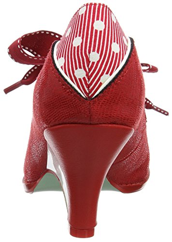 Poetic Licence by Irregular Choice Force Of Beauty, Escarpins femme Red (Red)