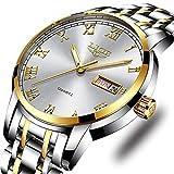 Relojes Hombres LIGE Moda Simple Impermeable Cuarzo Analógico Reloj Acero Inoxidable...
