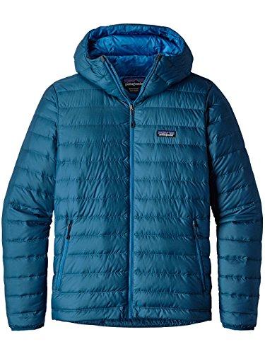 Patagonia Herren Daunenjacke mit Kapuze big sur blue