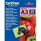 """Brother BP71GA3 - Papel """"Glossy"""", A3"""