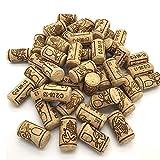 ysister 100 Pezzi Tappi in Sughero da Vino Tappi di Sughero Diritti per Il bricolage, la Decorazione e l'hobbistica/Tappi di Bottiglia in Sughero Naturale/Tappi da Vino Nuovo (21 * 40mm)