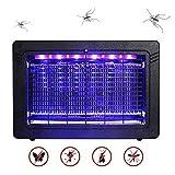 WADEO Lampe Anti Moustique Electrique Intérieur et Extérieur Tue Mouches 7W UV LED,...