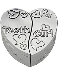 caja de dientes, en forma de corazón FGF Diente cajas de recuerdo Modelo No. RKS-TB002