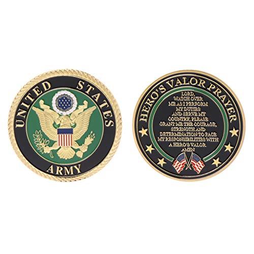 Vergoldet United States Army Gedenkmünze Souvenir Herausforderung Sammeln Münzen Sammlung Kunsthandwerk Geschenk -