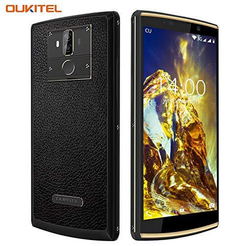 "[10000 mAh Akku] OUKITEL K7 Pro Handy, 4G LTE Smartphone ohne Vertrag, Octa-core 4GB RAM+ 64GB ROM, Android 9.0 Handy, 6.0"" HD+ Display, 13MP+2MP+5MP Kameras,9V/2A Schnellladung,GPS,OTG"