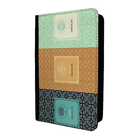 Chocolat Wrapper Motif passeport Coque – S125