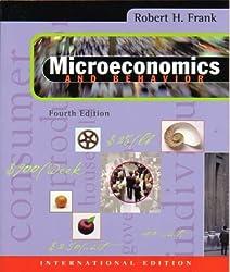 Microeconomics and Behavior by Robert H. Frank (1999-08-26)