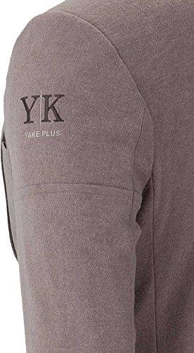 YAKE by S.O.H.O. NEW YORK Sakko Herren Slim Fit - Blazer Herren Sportlich Sheffield Taupe_003