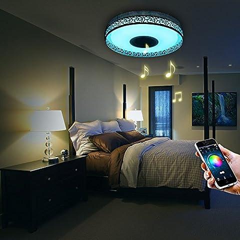 Plafonnier Led - Plafonnier LED Design Chambre 4160 Lumens Lumières