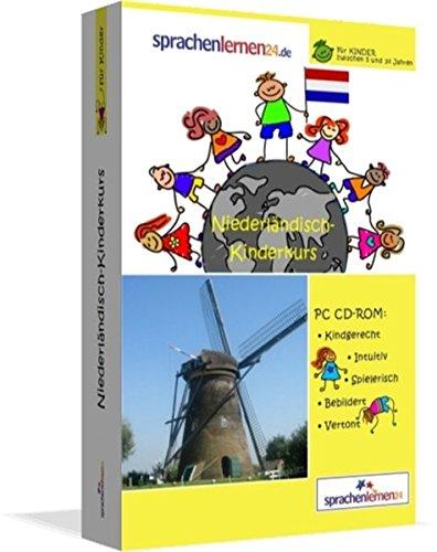Niederländisch-Kindersprachkurs von Sprachenlernen24: Kindgerecht bebildert und vertont für ein spielerisches Niederländischlernen. Ab 5 Jahren. PC CD-ROM für Windows 10,8,7,Vista,XP/ Linux/ Mac OS X