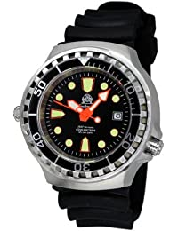 XL - 1000m - Automatic movement -diver watch from Germany Tauchmeister with sapphire glass and helium velve T0264
