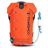 TOMSHOO 30L Outdoor Wasserdichte Tasche mit Wasserfilter und Schwerkraft-gefütterte