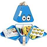 Teebee - Kinderkoffer für Spielzeug und Reise I Organizer, Brotdose und Spielzeugkiste für Auto und Flugzeug I Kreativ Spielen unterwegs I für Jungen und Mädchen
