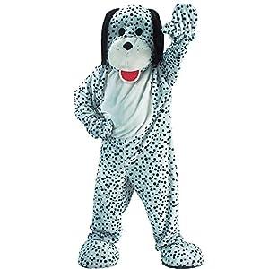Carnival Toys 25900 - Dalmatian, Hombres traje, cabeza y pies por separado, Universal L-XXL