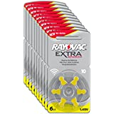 Rayovac R-extra-10 avancée Piles auditives (type: 10, 60-pack)