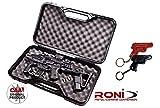 rocase-jr1CAA Tactical Schutzhülle für roni-kr1+ Kiro Leder Schlüsselanhänger