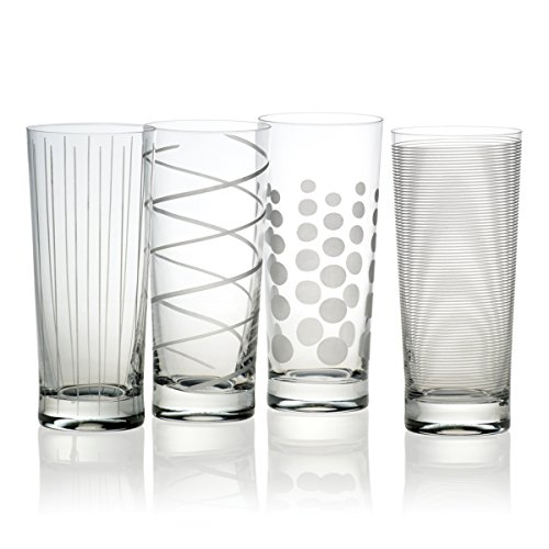 Mikasa Cheers Highball Glass, 19.75-Ounce, Set of 4 by Mikasa Mikasa Cheers Highball