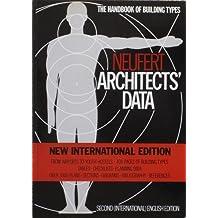 Architects' Data by Ernst Neufert (24-Mar-1987) Paperback