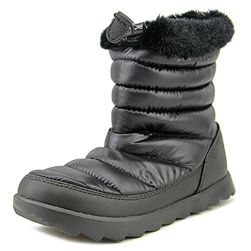 The North Face Thermoball Micro-Baffle Bootie Synthetik Winterstiefel Shiny TNF Black/TNF Black