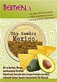 HEIMERLs Gewürzdip Mexico mit Käse, Koriander und Chili Leckeres Gewürz zum Zubereiten von Dip, Sauße und vegetarischen Brotaufstrich | ohne Zusatz von Glutamat | auch zum Kochen und Grillen geeignet