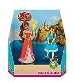 Bullyland 13081 - Juego de Figuras de Walt Disney Avalor, Set de Regalo Elena e Isabel (Aprox. 7,8 y 10 cm