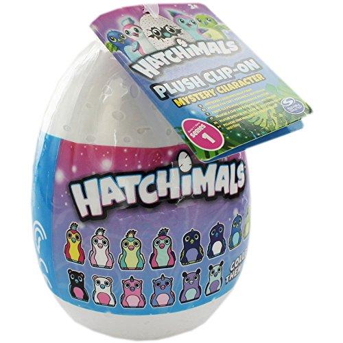 Hatchimals Ei Soft Plüsch Clip-on - Mystery Charakter