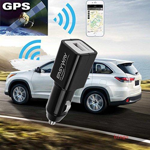 SO-buts Mini-GPS, Das Finder/intelligentes GPS-Verfolger- / Auto-Aufladeeinheit/Auto-Verzeichnis/G / M GPRS Realzeit aufspürt Gerät aufspürt (Schwarz)
