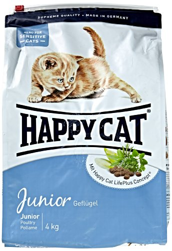 katzeninfo24.de Happy Cat Katzenfutter 70029 Junior 4 kg