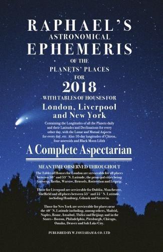 Raphael's Ephemeris 2018 por Edwin Raphael