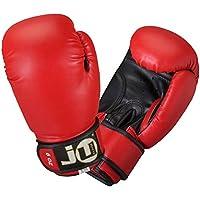 Ju-Sports Boxhandschuhe Plus - Guantes (6 onzas (170 g)), color rojo/negro, talla 6 oz.