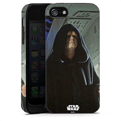 Apple iPhone X Silikon Hülle Case Schutzhülle Star Wars Merchandise Fanartikel Darth Sidious Tough Case matt