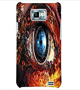 PRINTSWAG EYE Designer Back Cover Case for SAMSUNG GALAXY S2