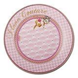 Piccolo piatto torta diva amo couture rosa set 2
