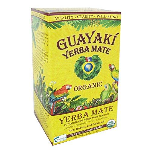 Guayaki Yerba Mate Biologica - Bustine Originali