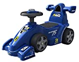 #7: Ez' Playmates Baby Ride On Formula Car Blue