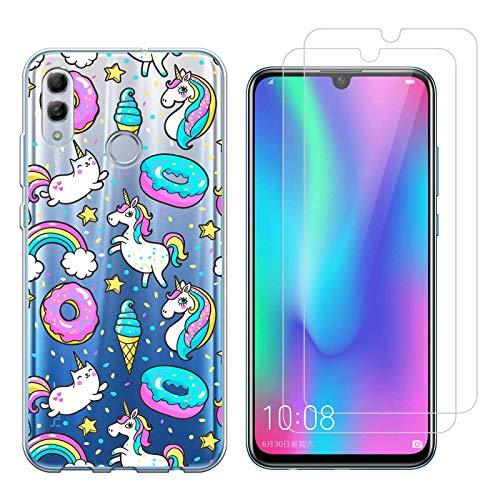 Funda Huawei P Smart 2019 Helado Unicornio Suave TPU