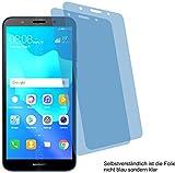 2X ANTIREFLEX matt Schutzfolie für Huawei Y5 Prime 2018 Bildschirmschutzfolie Displayschutzfolie Schutzhülle Bildschirmschutz Bildschirmfolie Folie
