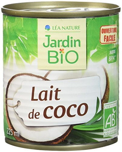 Jardin Bio Lait de Coco 225 ml - Lot de 6