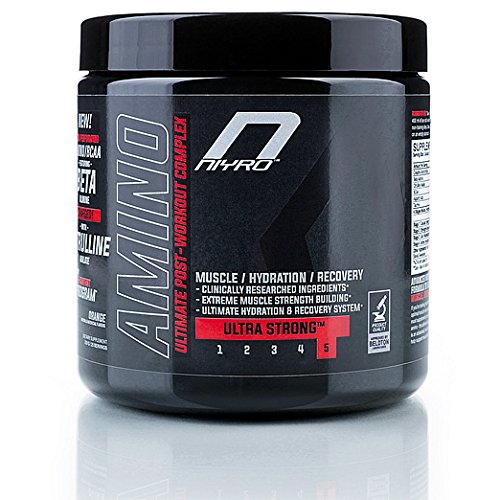 #Niyro – Amino Post-Workout – Muscle, Hydration & Recovery – Ultra Strong Supplement (300 g Orange)#