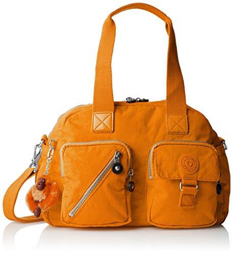 Kipling Defea Bolso de hombro, Naranja,...