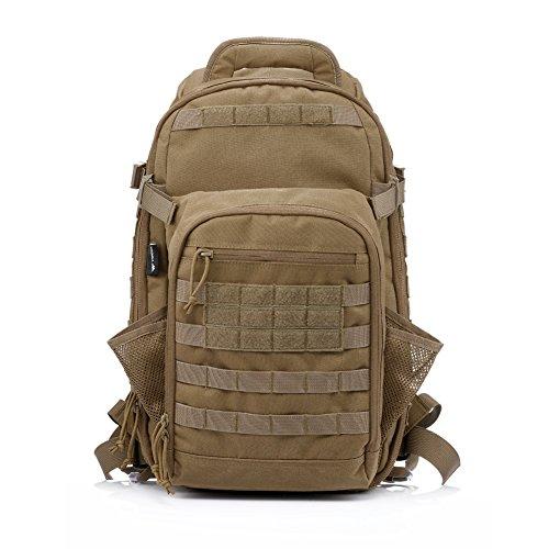42d4bcb5c Mejor Ahorro Para YAKEDA® Bolsa de hombro bolsos del alpinismo al aire  libre equipado camuflaje táctico mochila de camping bolsa de viaje Bolsas  de viaje ...