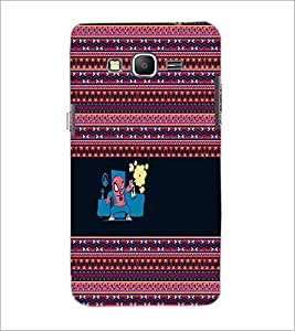 PrintDhaba Funny image D-5054 Back Case Cover for SAMSUNG GALAXY GRAND PRIME (Multi-Coloured)