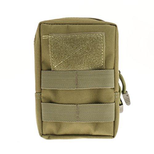 Taktische / Militärische Hüfttasche, geeignet für Jogging, Fitness, Radfahren, Bergsteigen, Wandern usw. Outdoor Sports Armeegrün