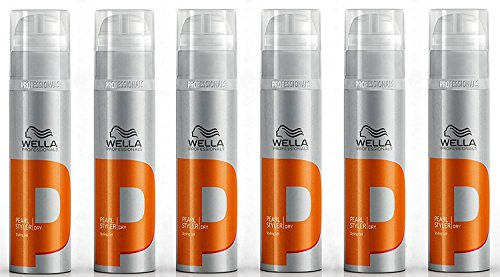 6x Wella High Hair Pearl Styler XXL 150ml (Xxl Pearl)