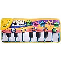 XCSOURCE Baby Piano Mat, moquette di musica, tastiera Touch Play, 6 modi musicali di canto per 3 o pi¨´ bambini Bambini WV327 - Mat Piano